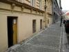 vstup do rámařství v Betlémské ulici