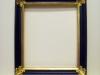 vzor barokního rámu s pravým zlatem